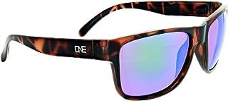 Optic Nerve One Kingfish Sunglasses Frame, Shiny Dark Demi
