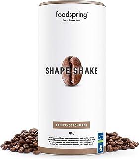 comprar comparacion foodspring Shape Shake, Sabor Café, 750g, Batido saciante, 100% proteína de suero de leche en polvo, Enriquecido con L-car...