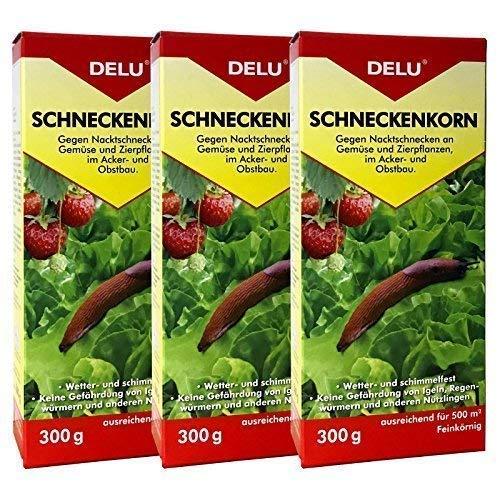 DELU Schneckenkorn - 3 x 300 g