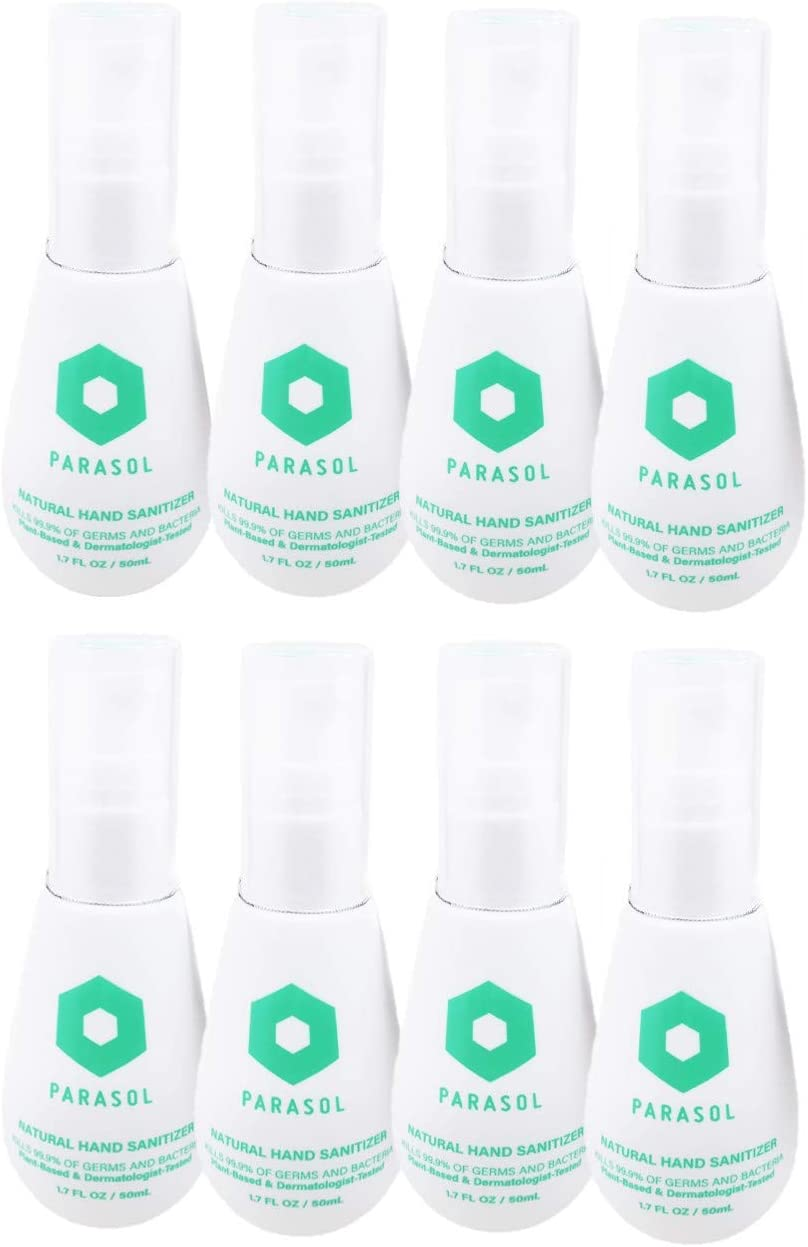 PARASOL Natural Hand Sanitizer 1.7oz At the price count Pack Of Recommended 8