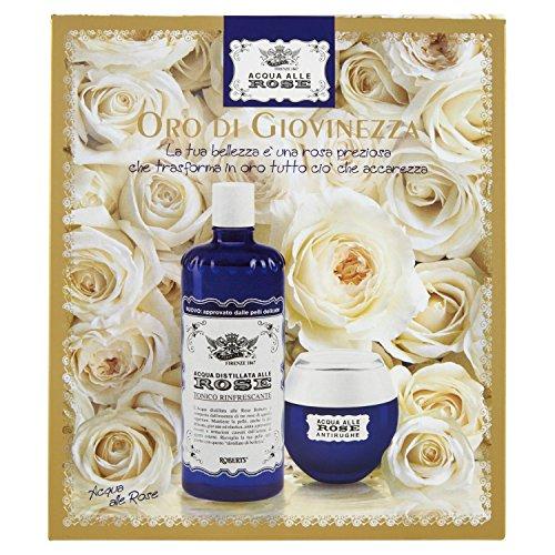 Acqua alle Rose Cofanetto Oro di Giovinezza - 640 g