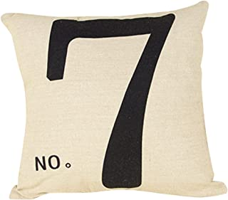 Best number pillow covers Reviews