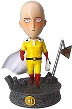No Anime One Punch Man Saitama PVC Figura Q Ver. Figura de acción de la Estatua 17cm, Modelo de Anime Escultura Colección Regalo