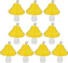 MILISTEN 10Pcs Paddestoel Hanger Charme Paddestoel Resin Charm Diy Sieraden Maken Charm Paddestoel Ornament Voor Diy Armba...