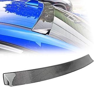 スバル WRX STI VA系 セダン 2016-2019y リアルーフスポイラー カーボン製 Dタイプ