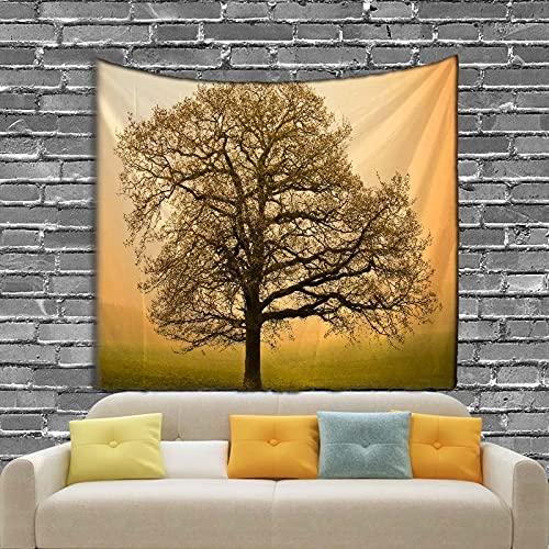 KHKJ Landschaft Baum Thema Wandteppich...