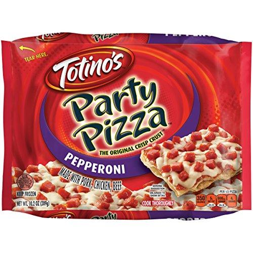 Totinos Pepperoni Party Frozen Pizza - 10.2oz