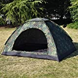 Kotak Sales Army Military Tent Dome Picnic Camping for 2 to 4 Person Family Portable Carry Bag...