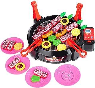 YIGO バーベキュー セット ミニ BBQ 知育玩具 ままごと 子供 おもちゃ キッチンセット 面白い玩具 子供の誕生日プレゼント 入園お祝い