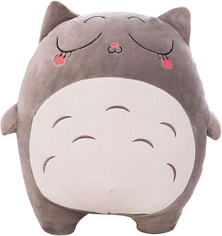 Beautyonline Totoro Plush Doll Cute Totoro Stuffed Animals Soft Toy Doll Pillow Cushion Birthday Holiday Gift