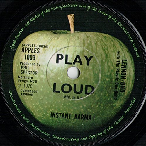 Instant Karma - Lennon* / Ono* With Plastic Ono Band, The 7