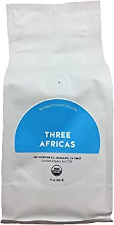Blue Bottle Coffee - Three Africas Blend (Whole Beans Coffee), 6 Ounces