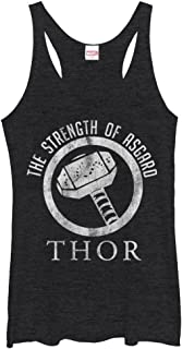 Marvel Women's Thor Strength of Asgard Racerback Tank Top