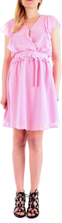 Silvian Heach Women's PGP19235VEPINK Pink Polyester Dress