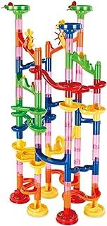 Blesiya Marble Run Race Roller Building Blocks Construction Kit Toy Game 91 Pcs/Set