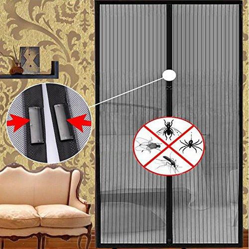Mosquitera magnética para puerta de casa, delicada cortina de tejido de malla anti mosquitos, insectos, moscas, cortina para las puertas de las casas,