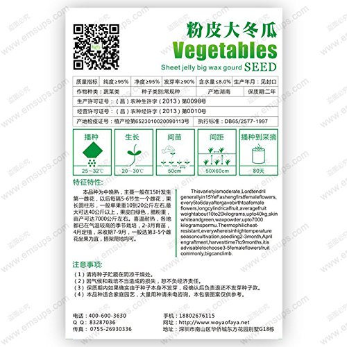 Bitter Melon Balsam Pear Graines 100pcs, Ku Gua Gourd Bitter comestibles Fruit Vegetable Seeds, Bitter Seeds Squash Momordica charantia