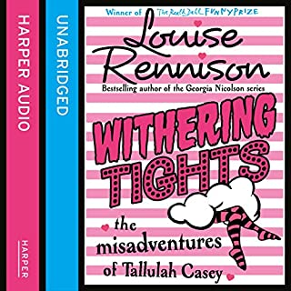 Withering Tights                   By:                                                                                                                                 Louise Rennison                               Narrated by:                                                                                                                                 Louise Rennison                      Length: 5 hrs and 24 mins     26 ratings     Overall 4.6