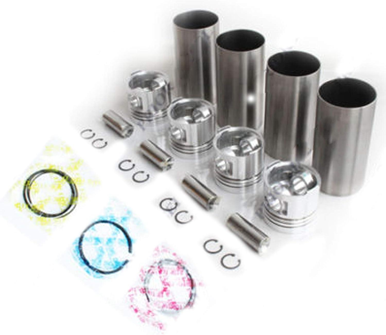 SINOCMP online shop 4JA1 Diesel Store Engine Liner Kit NHR54 TFR54 for RODEO Isuzu