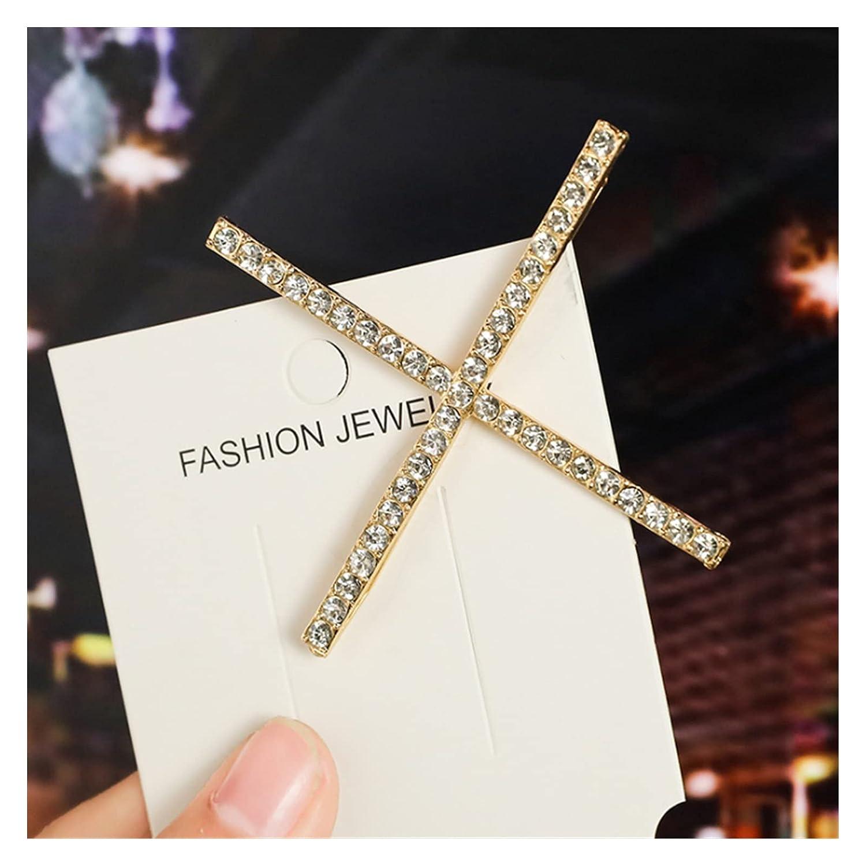 Hair Pin Fashion Sale Women Rhinestone Shape Hairpin X 40% OFF Cheap Sale C V