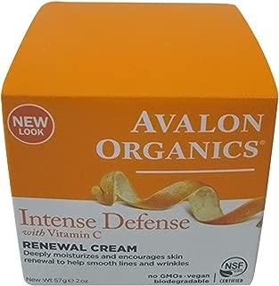avalon organics vitamin c renewal moisturizer