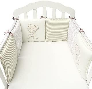 Eternitry Cuna para bebés Parachoques Toddle Guardería