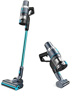 JASHEN V18 Cordless Vacuum Cleaner Blue 350W Power Strong Suction