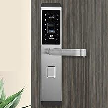 ZoSiP Elektronisch deurslot, elektronisch vingerafdrukslot, digitaal, multifunctioneel, zonder sleutel, met digitaal slot,...