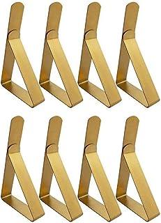 Clips de nappe, Extérieur Nappe de table Pique-nique Clips de table Acier inoxydable Supports de nappe pour les pique-niqu...