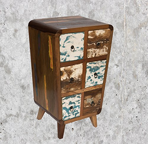 (K26) Antique teck table commode Cabinet Armoire Buffet TV shabby vintage Buffet rétro