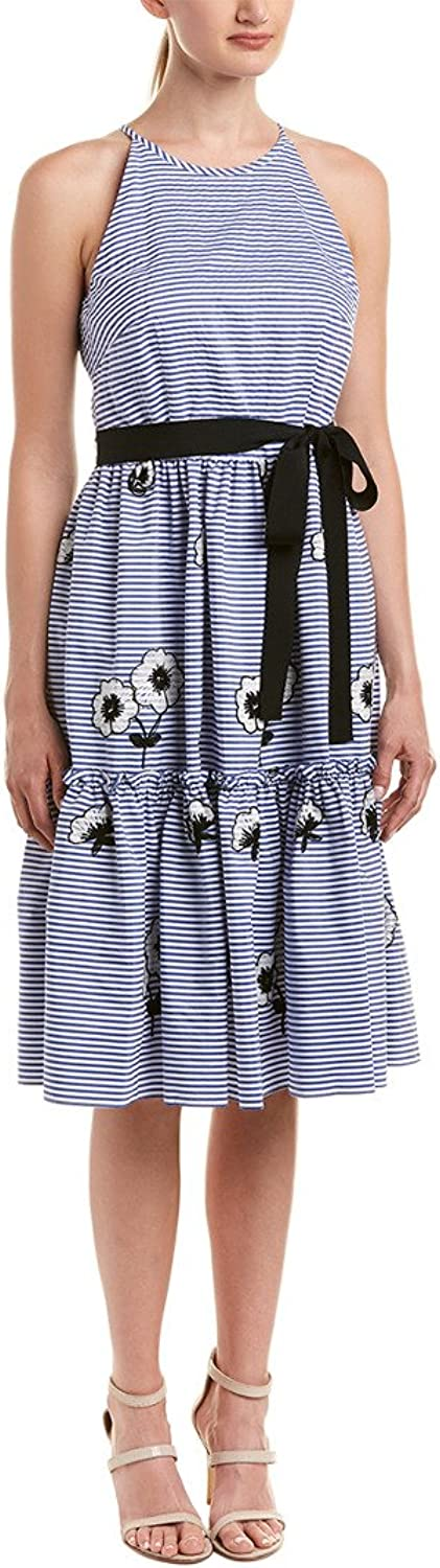 Eliza J Womens Halter Fit and Flare Dress Dress