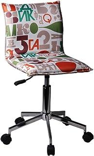 Decohouse - Silla Oficina Escritorio Ordenador - giratoria Calidad cómoda Altura Regulable ergonómica -Polipiel Color