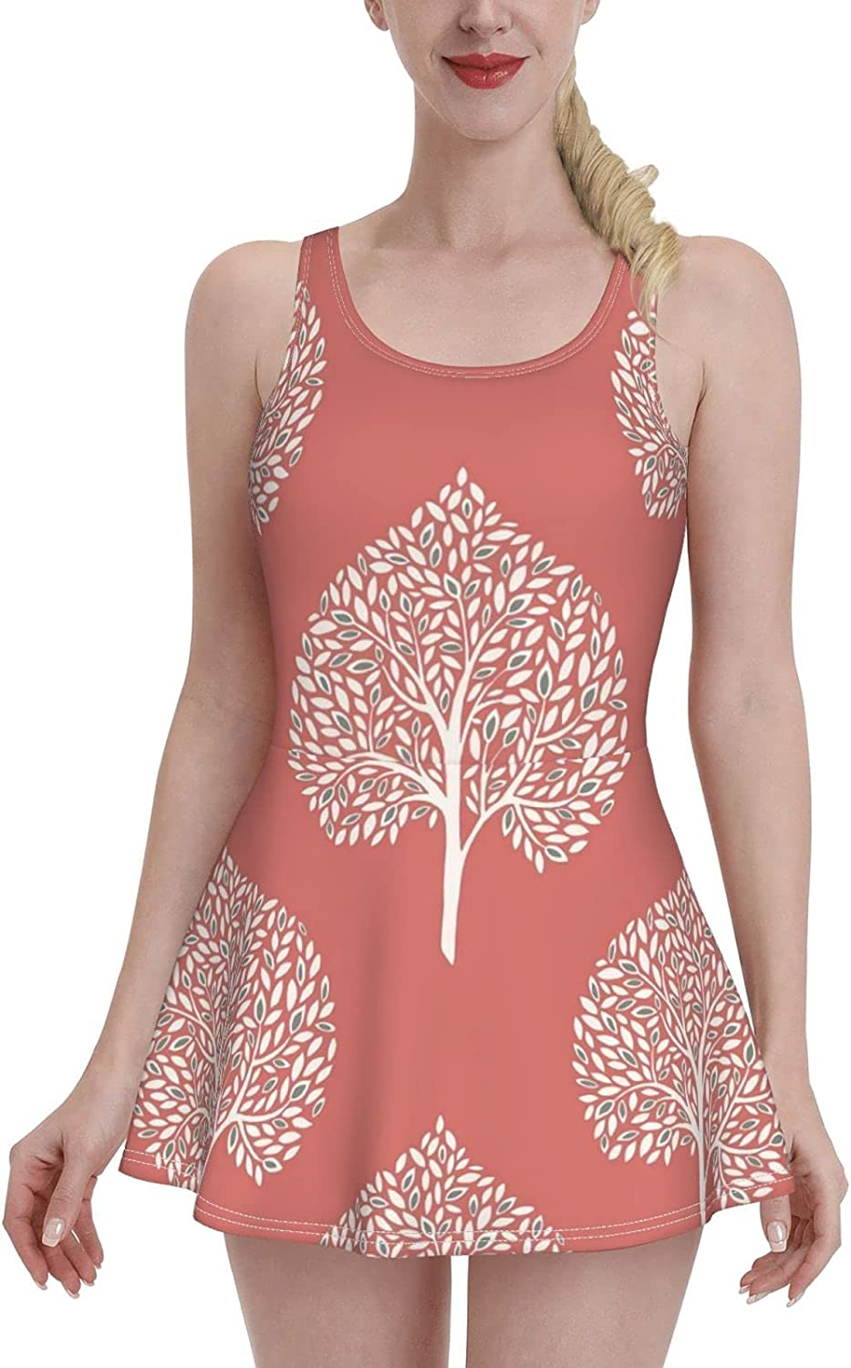 White Tree Ladies Ruffled One-Piece with Str Adjustable Swimsuit Super intense Very popular SALE