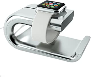 Multi-function charging stand cradle bracket for Apple Watch Series 1 Series 2, iPhone 7/7 Plus/6s/6s plus/6 Plus, WHITE