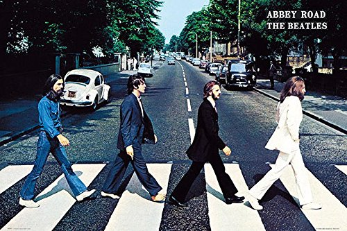 Close Up Beatles Poster Abbey Road (91,5 cm x 61 cm)