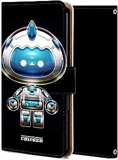Galaxy A7 2018 ケース 手帳型 ギャラクシー A7 2018 カバー スマホケース おしゃれ かわいい 耐衝撃 花柄 人気 純正 全機種対応 WX218-AI知能にわとり レトロ アニマル ファッション 12128832
