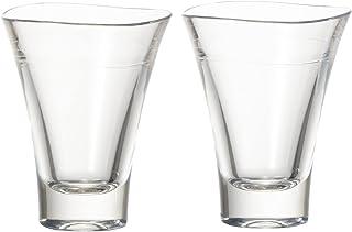 プラキラ(Plakira) おちょこ 日本酒 グラス ぐい呑 クリア 透明 60ml 2個セット 食洗機対応 キャンプ向け 耐熱100度 生涯割れない保証書付き トライタン素材 日本製