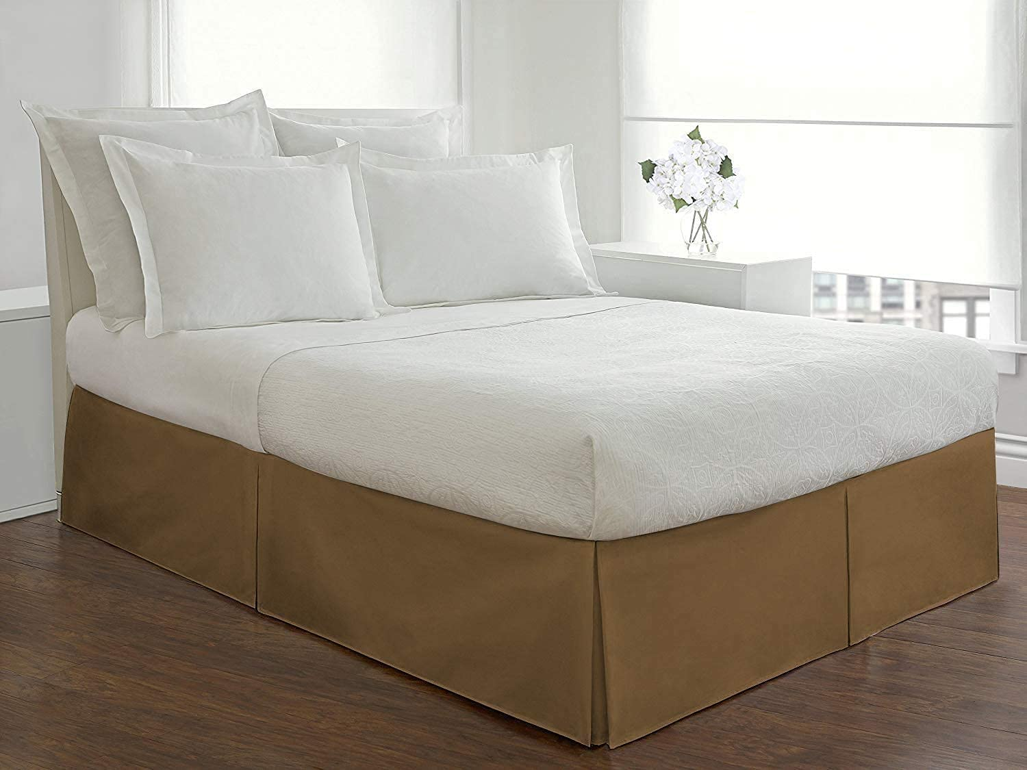 Max 42% OFF Hotel Luxury Bed lowest price Skirt Box Cotton Pleated-100% with Egyptian 800
