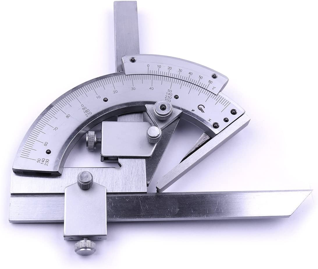 Atoplee 0-320 Degree Stainless Protractor Bevel Limited Max 78% OFF time cheap sale Universal Steel