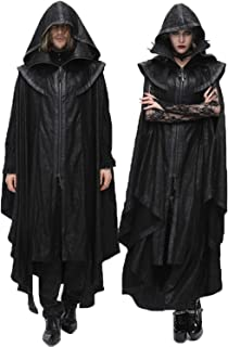 Gothic OUTFIT L 52 vampiro CAPPOTTO CON CAPPELLO RAVEN COSTUME Lord Conte Vampiro Costume