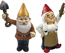 By Mark & Margot - Angry Gnome Couple - Mischievous Cat & Dog Accessory