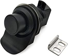Slot Plastic Push Lock Communicatie Apparatuur Deurslot 9With Key Embedded/Handgreep Lock Strong (Color : 93 303)