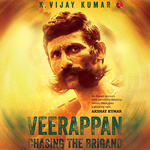Veerappan audiobook cover art