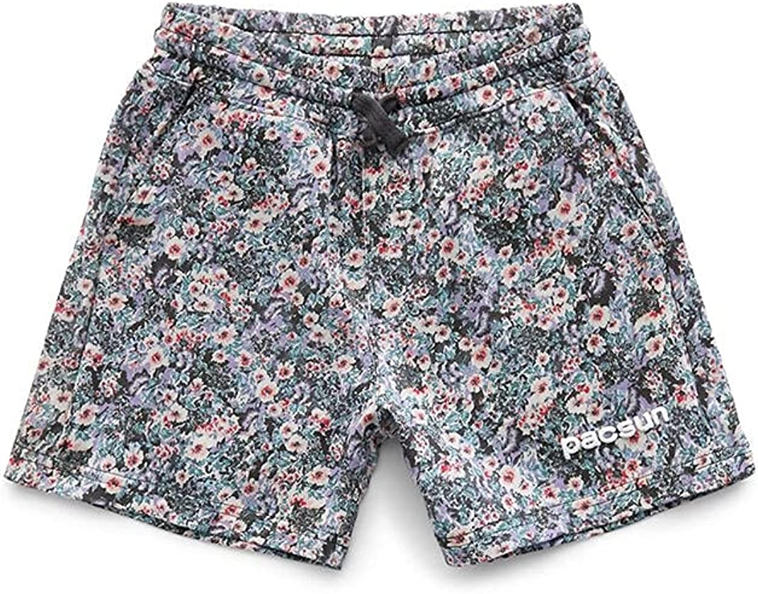 PacSun Kids Floral Pull-On Shorts
