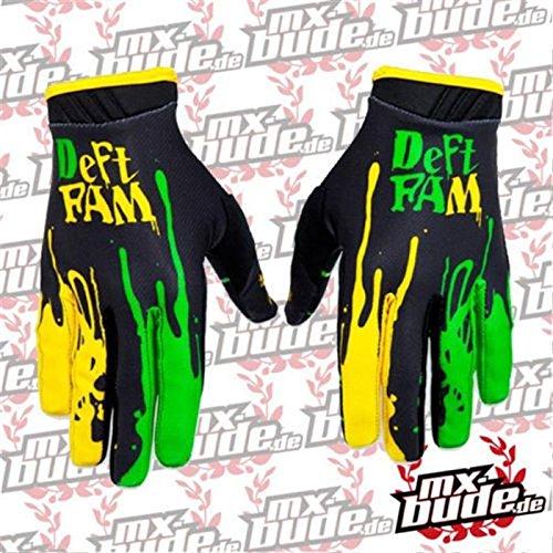 Deft Family Handschuhe - Artisan - Dipped - grün-gelb