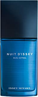 Nuit D'Issey Bleu Astral by ISSEY MIYAKE for Men Eau de Toilette 125ml, Tranparent, 3423474889259