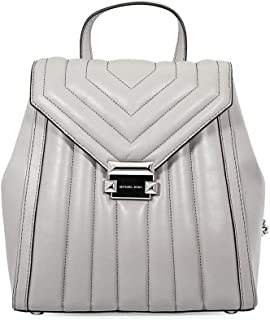 MICHAEL Michael Kors Whitney Quilted Small Backpack (Pearl Grey)