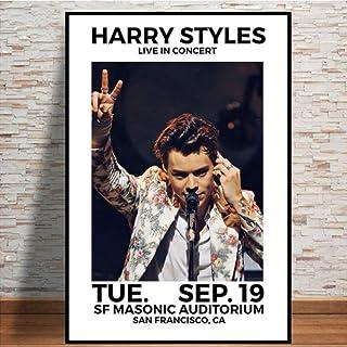 MZCYL Rompecabezas 1000 Piezas Imagen De Ensamblaje Harry Styles 2018 Tour Music Star Hot Art Modern para Adultos Juegos para Niños Juguetes Educativos MA2484