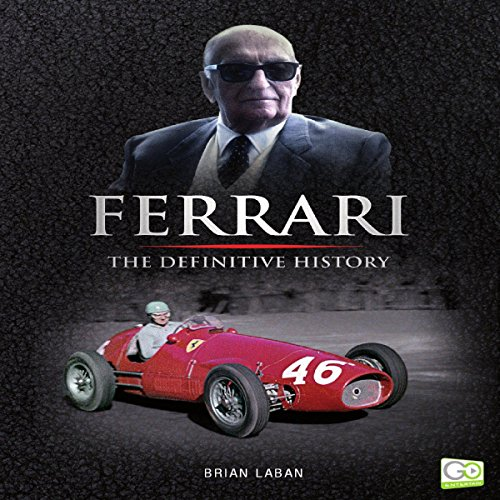 Ferrari audiobook cover art