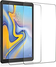 ZoneFoker [2 Pack] Samsung Galaxy Tab A 10.5 inch 2018 Tablet Screen Protector, [Anti-Scratch][Easy Installation][Bubble Free] Tempered Glass for Samsung SM-T590 (Wi-Fi)& SM-T595 (LTE) Tablet